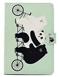 Pour Avec Support Motif Coque Coque Intégrale Coque Animal Dur Cuir PU pour Apple iPad Mini 4 iPad Mini 3/2/1