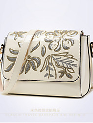 Women Patent Leather Formal Event/Party Outdoor Office & Career Shoulder Bag