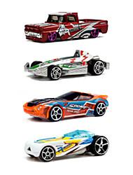 Voiture de Course Playsets de véhicules Jouets de voiture 1:64 Métal Plastique Arc-en-ciel Maquette & Jeu de Construction