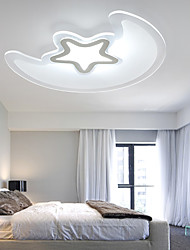 Flush Mount ,  Modern/Contemporary Painting Feature for LED PVC Living Room Bedroom Dining Room Kitchen Study Room/Office