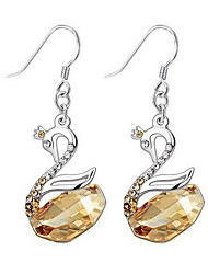 Drop Earrings Crystal Crystal Gold Jewelry Daily Casual 1 pair