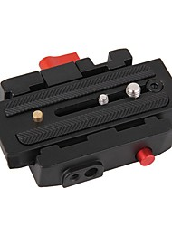 камера штатив монопод p200 алюминиевый зажим QR сплав релиз adapterquick пластина для Manfrotto 501 500ah 701hdv 503hdv В5