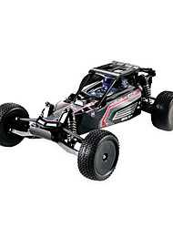 HUANQI 739 Remote Control Short Truck Toy Black White