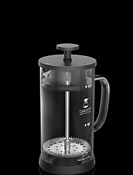 350 ml  Glass French Press , 3 cups Scented Tea Maker Manual