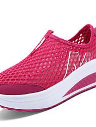 Feminino-Tênis-Conforto Solados com Luzes-AnabelaTule-Ar-Livre Casual Para Esporte