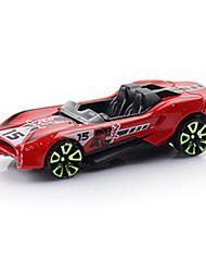 Voiture de Course Jouets Jouets de voiture 1:64 Métal Plastique Rouge Maquette & Jeu de Construction