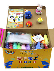 Stress Relievers DIY KIT Educational Toy Putties Play Dough,Plasticine & Putty Novelty DIY Paper Foam