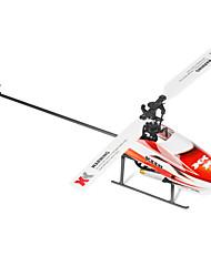 XK Вертолет 6-канальн. 6 Oси 2.4G - Оранжевый Углеволокно