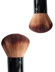 1 Кисть для основы Синтетические волосы Офис Экологичность Переносной Дерево Лицо Прочее