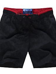Hommes Ample Joggings Short Pantalon,simple Bohème Actif Décontracté / Quotidien Plage Sportif Imprimé Taille Normale Cordon Elasticité