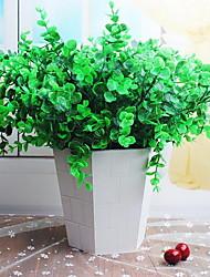 1 Branch Plastic Fiber Eucalyptus