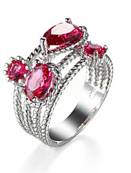 Elegant Fashion Zircon Ring Wedding Party Design Vintage Party Rings For Women
