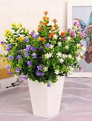 1 Ast Kunststoff andere Tisch-Blumen Künstliche Blumen 25*25*36