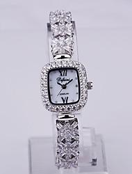 Fashion Watch Quartz Alloy Band Silver Gold Brand