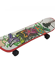 Mini Skateboards & Bikes Leisure Hobby Skate Plastic Rainbow For Boys For Girls