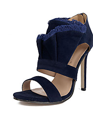 Women's Heels Spring Other Fabric Dress Stiletto Heel Others Blue