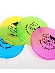 Dog Toy Pet Toys Flying Disc Squeak / Squeaking Durable Rubber