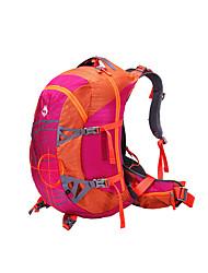 50 L Rucksack Camping & Wandern Klettern Draußen Leistung Wasserdicht Regendicht Staubdicht Stoßfest Grün Rot Grau Nylon