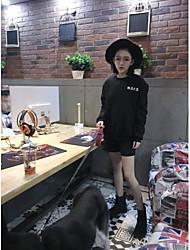 signe bas de laine noire épaisse a des hommes de couverture de koi en vrac de style chinois chandail