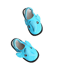 Girls' Baby Flats Comfort Cotton Spring Fall Casual Outdoor Running Comfort Low Heel Gray Blue Blushing Pink Flat