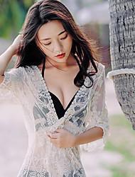 assinar swimsuit do biquini blusa jaqueta bud fio mesh estância balnear de sol da praia roupas de proteção fora do cardigan passeio
