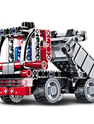 Building Blocks For Gift  Building Blocks Model & Building Toy Truck Plastic 5 to 7 Years 8 to 13 Years 14 Years & Up Red Toys
