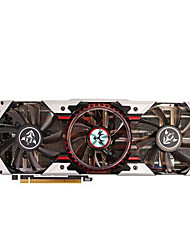 colorful® de vídeo da placa gráfica gtx1080 igame1080 1607mhz / 10010mhz8gb / 256 bits GDDR5