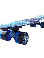 Cruisers Skateboard for Professional 22 InchBlue