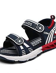 New Children Sandals Comfort Light Soles Microfibre Outdoor Athletic Casual Flat Heel Hook & Loop  Walking