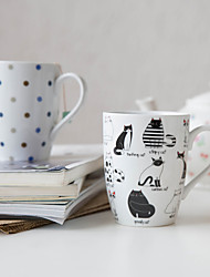 Cartoon Drinkware, 320 ml Decoration Ceramic Juice Milk Coffee Mug