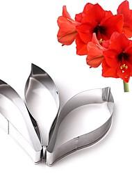 Наборы посуды для выпечки Цветы конфеты Для шоколада Для Cookie Нержавеющая сталь День рождения День Святого Валентина Сделай-сам Свадьба