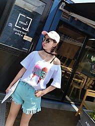 neue koreanische Version wurde dünne Taille Shorts Grate Shorts Denim weibliche lose dünne Abschnitt frisch