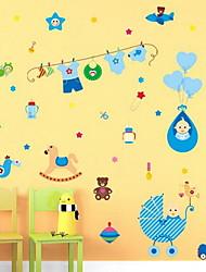Baby Room Cartoon Wall Sticker Vinyl Material Home Decoration