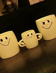 Cartoon Drinkware, 300 ml Decoration Girlfriend Gift Ceramic Juice Milk Coffee Mug