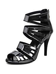 sandales printemps chaussures de club de chute d'été gladiator bride cheville personnalisé matériaux partie&robe de soirée stiletto