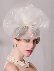 Tulle Headpiece-Wedding Special Occasion Casual Outdoor Fascinators Hats 1 Piece