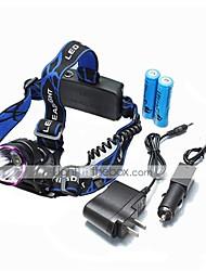 U'King® ZQ-X804#-EU CREE XM-L T6 2000LM 3Modes Zoomable Headlamp Purple Head