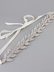 Rhinestone Alloy Headpiece-Wedding Headbands 1 Piece
