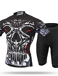 XINTOWN®  Prince of the Devils Men's Cycling Jersey 3D Gel Padded Shorts Biking Sportswear