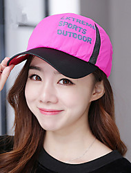2017 Women's Baseball Cap Casual Outdoor Quick Dry Offset Net Hat Sunscreen Letter Mesh Cap