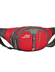 Belt Pouch/Belt Bag Chest Bag for Camping & Hiking Climbing Fitness Running Cycling/Bike Traveling Sports BagWaterproof Rain-Proof Dust