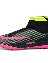Soccer Shoes/Football Boots Unisex Anti-Slip Cushioning Ultra Light (UL) Wearable Outdoor Performance High-Top PU Soccer/Football high ankle turf sole