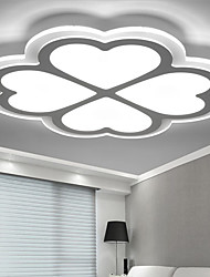 Four Leaf Clover LED AcrylicThe Bedroom Light Dimmable Sitting Room Lights Remote Control