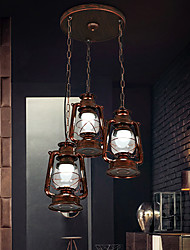 Retro Restaurant Chandelier Bedroom Study Lamps  F