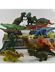 Figurines d'Action & Animaux en Peluche Modèle d'affichage Maquette & Jeu de Construction Jouets Nouveautés Dinosaure Plastique
