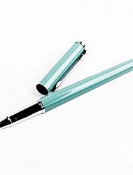 Caneta Caneta Canetas Caneta,Metal Barril Cores Aleatórias cores de tinta For material escolar Material de escritório Pacote de