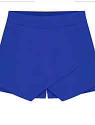 2014 лето новые женщины&# 39; s конфеты цвет передней крестовине случайные брюки шорты летние брюки корейской версии