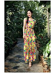 fleurs simples robe de vacances promos de sanya robe jupe veste