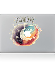 For MacBook Air 11 13/Pro13 15/Pro With Retina13 15/MacBook12 Star Moon Decorative Skin Sticker
