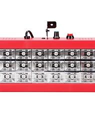 Uwking 25w mini auto et son activé 18rgb leds scène équipement d'éclairage led room stroboscope pour disco dj party musique show
